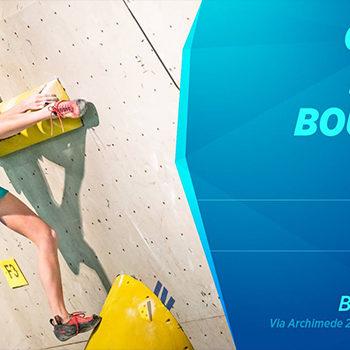 Coppa Italia Boulder: 1ª prova