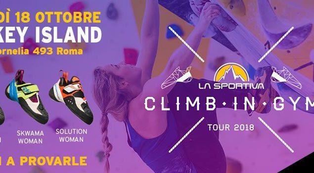 La Sportiva Climb in Gym